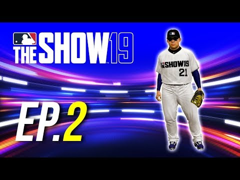 MLB The Show 19 Road to the Show PS4 Ep.2 (DOUBLE A DEBUT)