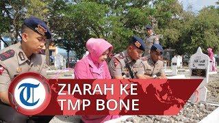 Sambut HUT ke-74 Korps Brimob, Personel Batalyon C Pelopor Polda Sulawesi Selatan Ziarah ke TMP Bone