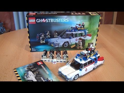 Test LEGO Ghostbusters Ecto-1 (Set 21108 CUUSOO/Ideas im Review)