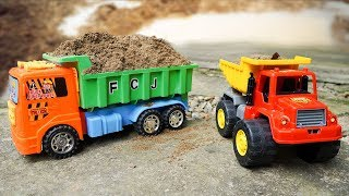 Sand Truck 🚚 Toy Truck for Kids #3 - Dave Mario Toy Reviews