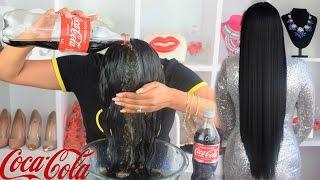 Lavar Tu CABELLO con Coca Cola 😱😱Realmente FUNCIONA ?? RESULTADOS INCREIBLES❤ coke hair rinse