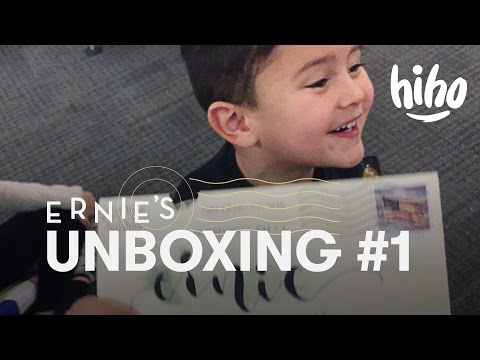 Ernie Unboxing #1