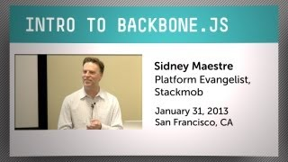 An Introduction to Backbone.js