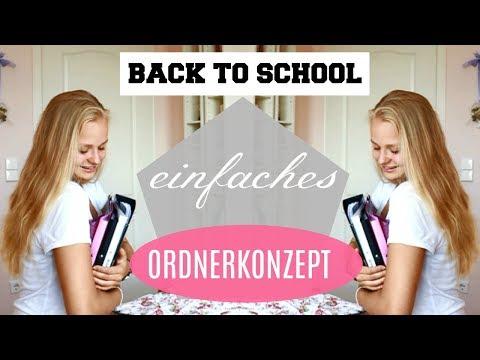 EINFACHE & OPTIMALE ORDNERGESTALTUNG / BackToSchool