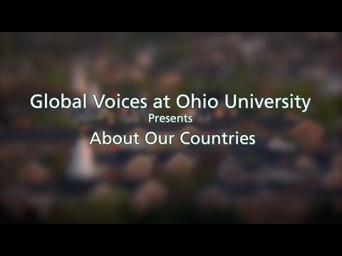 About Our Countries at Ohio University