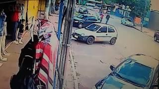 Huida de sicarios tras asesinato en Pedro Juan Caballero