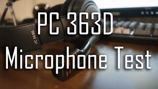 Sennheiser PC 363D Headset Microphone Test
