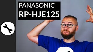 Panasonic RP-HJE125 Review how is it even possible at 5$?!