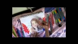 Time Lapse Drawing: Kristina Webb