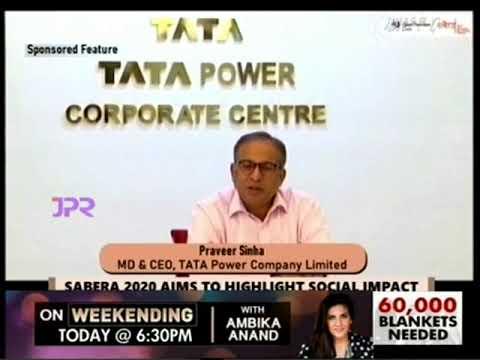 Tata Power bags the Responsible Business of the Year award at SABERA Awards 2020.