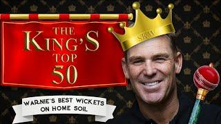 Full Countdown: Shane Warne's 50 best wickets on home soil