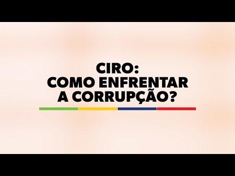 Ciro: Como enfrentar a corrupção?