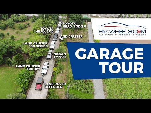 Asif Fazal Chaudry Rally Driver Garage Tour | PakWheels