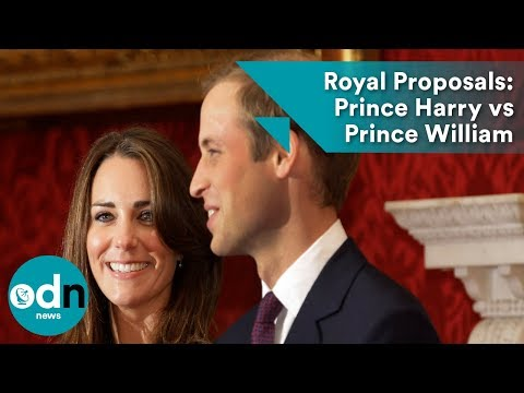 Royal Proposals: Prince Harry vs Prince William