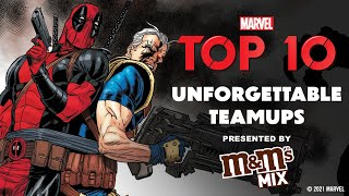 Who is the BEST Marvel Team-up? | Top 10