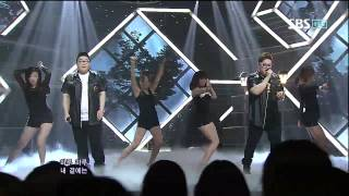 2BIC [LOVE AGAIN] @SBS Inkigayo 인기가요 20120624