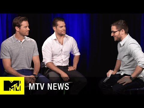 Henry Cavill & Armie Hammer Trade 'The Man From U.N.C.L.E.' Secrets | MTV News