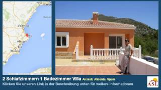 preview picture of video '2 Schlafzimmern 1 Badezimmer Villa zu verkaufen in Alcalali, Alicante, Spain'