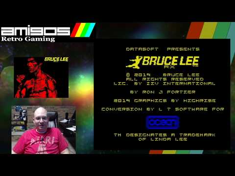 Boat Streams Bruce Lee RX (New 2019 ZX Spectrum Game)