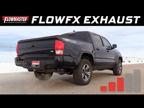 2016-19 Toyota Tacoma 3.5L - FlowFX Cat-Back Exhaust System 717918