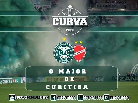 """MAIOR DE CURITIBA - CURVA 1909 - CORITIBA 2x0 VILA NOVA - 25-05-2018"" Barra: Curva 1909 • Club: Coritiba"