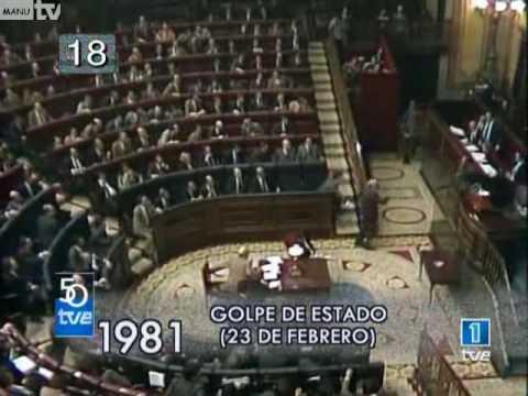 32º Aniversario del Golpe de Estado (23 de Febrero de 1981)