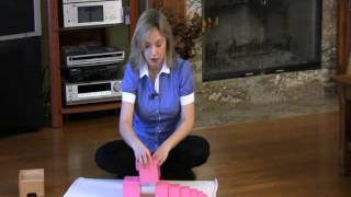 Montessori Sensorial Lesson - Pink Tower