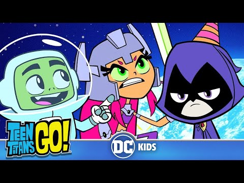 Teen Titans Go! | Space Adventures! | DC Kids