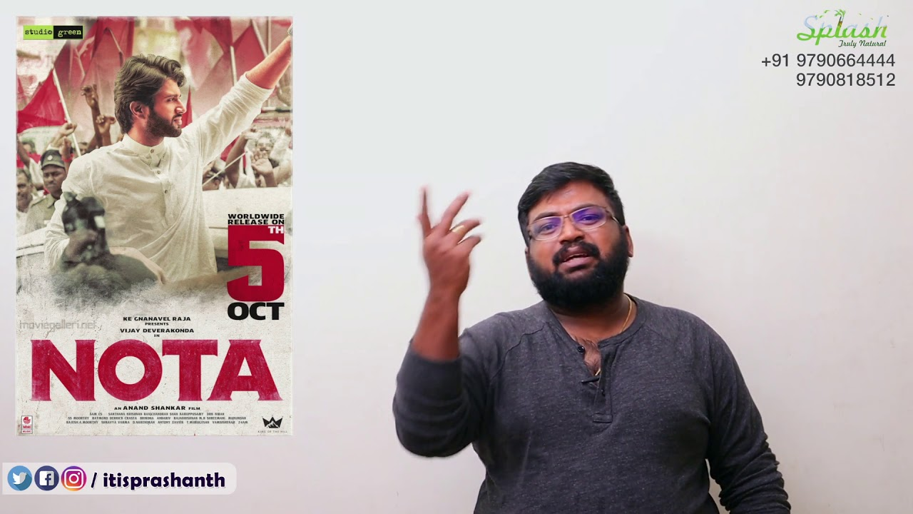 NOTA review by Prashanth