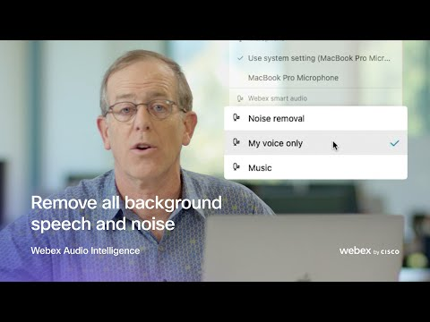 Video: Webex's new My Voice Only mode