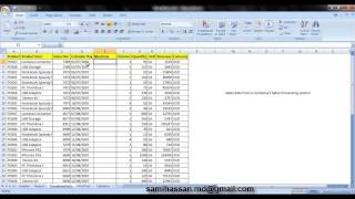 Data Reconciliation and MIS Reporting using a Spreadsheet (MS Excel)