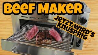 Beef MAKER vom ALDI [gebraucht] gekauft [total] genial | Rump Steak perfekt beefen