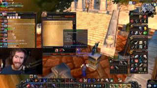 Asmongold's Fourth Stream of the WoW Classic Beta