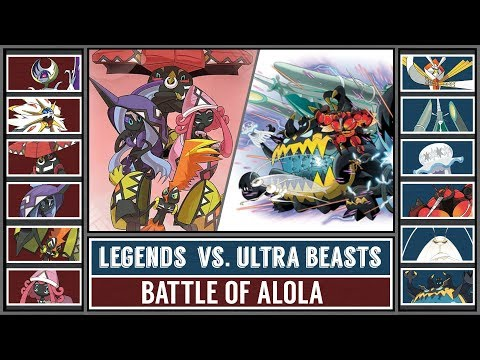 Alola Legends vs. Ultra Beasts (Pokémon Sun/Moon) - Battle of Alola