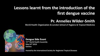 Video: Lessons learnt from the first dengue vaccine