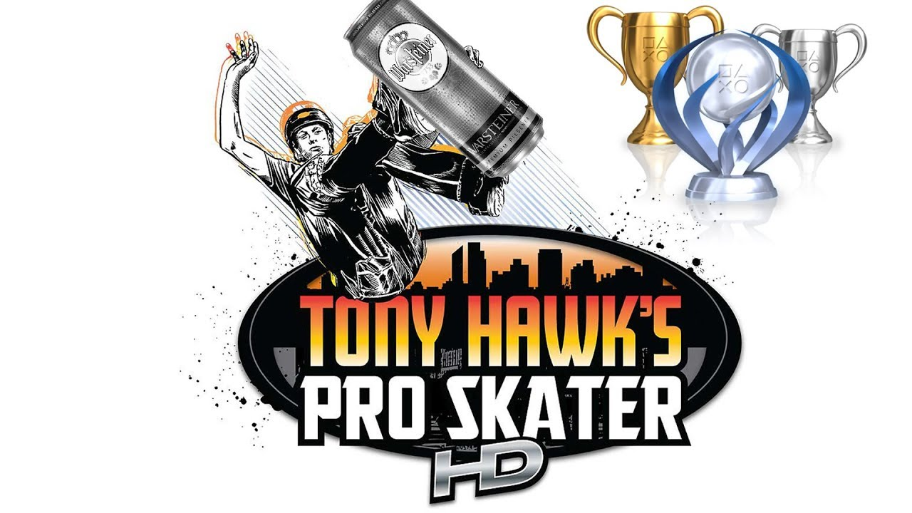 Tony Hawk's Bier Skater HD: All Projectives