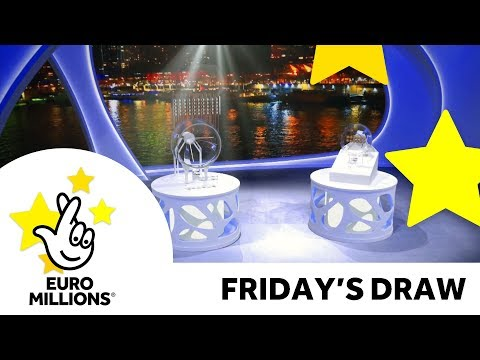 The National Lottery Friday 'EuroMillions' draw results from 16th March 2018