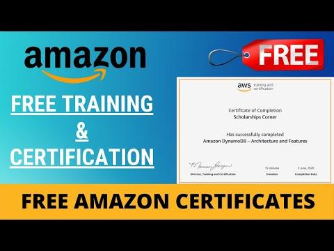 Amazon Training & Certification | Amazon Free Certification | AWS ...