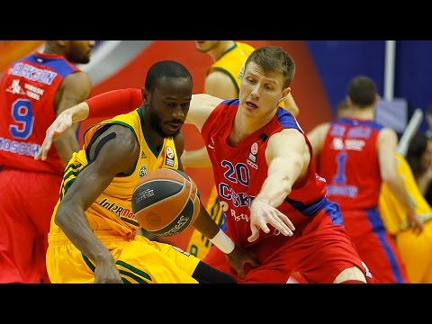 Highlights: CSKA Moscow-Limoges CSP
