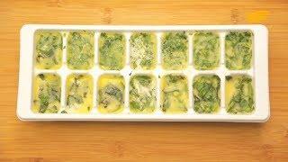 Как вкусно хранить зелень в холодильнике