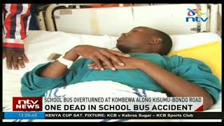 Nine admitted after school bus crash - VIDEO