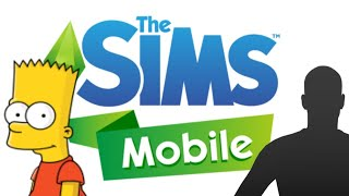 BART SIMPSON IN THE SIMS??? || The Sims: Mobile