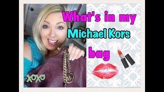 What's in my Michael Kors Jet Set bag  2017