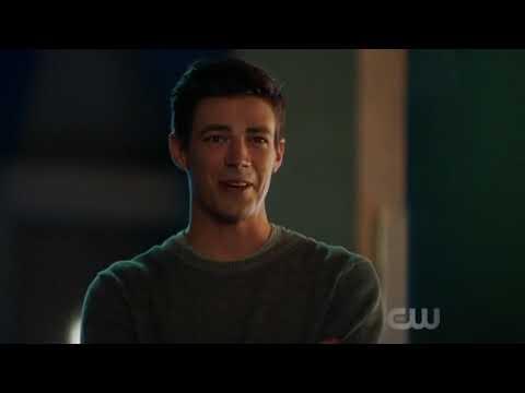 Flash season 5 episode 1 ending scene