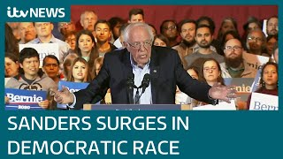 Is Bernie Sanders now unstoppable in Democratic race to face Trump?   ITV News