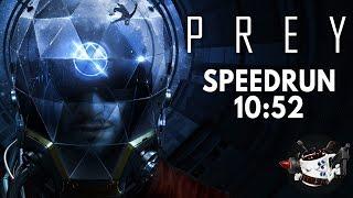 Prey (2017) Speedrun in 10:52 [Personal Best]