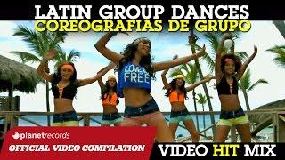 LATIN GROUP DANCE HITS ► BAILES DE GRUPO ► I MIGLIORI BALLI DI GRUPPO SALSA BACHATA REGGAETON