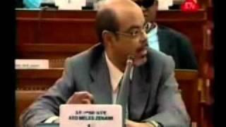 Kibebew Geda Vs Tyrant  Meles Zenawi