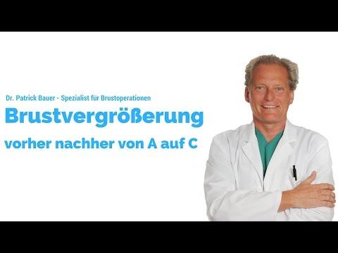 Brustvergrößerung vorher nachher A auf C | Dr. Bauer | Spezialist für Brustoperationen