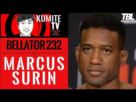 Marcus Surin feels his iron lungs will be key to defeating Devin Powell